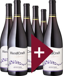 "5+1 Paket Petite Sirah ""HandCraft"", Artisan Collection"