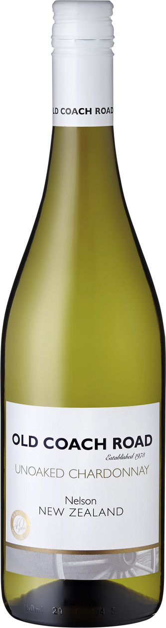 2016 Chardonnay Old Coach Road unoaked , Seifried Estate - broschei