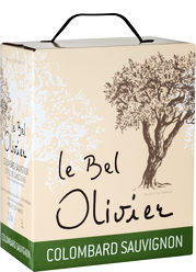 Colombard & Sauvignon Blanc, Le Bel Olivier, Bag-in-Box (3,0 l)