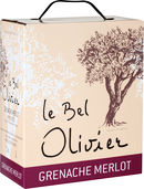 Grenache & Merlot, Le Bel Olivier Rouge, Bag-in-Box (3,0 l)