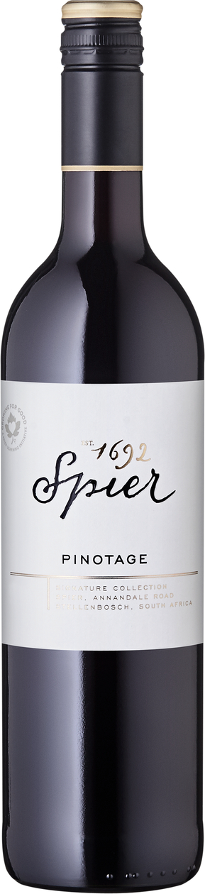 Image of 2019 Spier Signature Collection Pinotage / Rotwein / Western Cape WO Western Cape